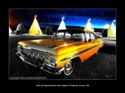 photo scene de genre chevy impala 59 wigwam motel holbrook arizona : Route 66 Chevy Impala 59