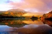 photo paysages loch achray the trossachs highlands scotland : Loch Achray