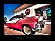 photo scene de genre route 66 cafe ford fairlane 55 williams arizona : Route 66 Cafe