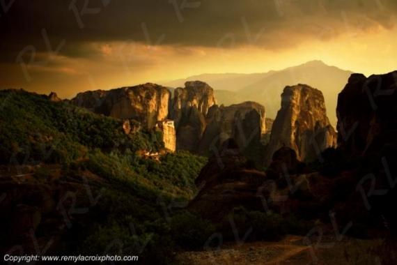 PHOTO Météores Meteora Grèce Greece Paysages  - Les Météores, Grèce