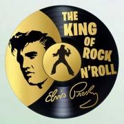 deco design personnages elvis presley disque vinyle deco murale musique : disque vinyle déco Elvis Presley