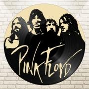 deco design personnages disque vinyle pink floyd deco murale musique : disque vinyle déco Pink Floyd