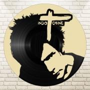 deco design personnages disque vinyle indochine deco murale musique : disque vinyle déco INDOCHINE