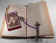autres autres vintage coupepapier bookmark marque page : le marque-page du Mr Pensif