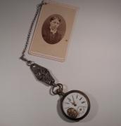 autres autres vintage montre ,a gousset bookmark marque page : Marque-page les ruines d'une âme