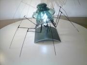 artisanat dart animaux creation unique original araignee : Lampe Araignée