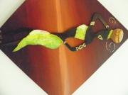 tableau personnages femmeafriquevoyage : Ondulation