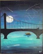 tableau paysages pontbrooklyn : Pont de Brooklyn