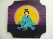 tableau personnages gheishafemmejapon : Gheisha