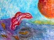 tableau marine bruxelles uccle engeland uccle : La plongée dans la matière