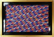tableau abstrait abstrait toile ondulation pliage : CA04052020128