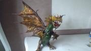 artisanat dart animaux dragon asie papier mache : Dragon