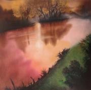 tableau paysages : Le Fleuve de pensée