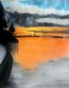 tableau paysages : l'Horizon