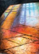 tableau architecture reflets dalles cathedrale metz : Dalles de cathédrales