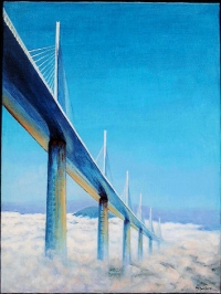 Entre terre et ciel: viaduc de Millau