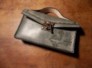 art textile mode animaux cuir sac repoussage salamandre : Sac à main