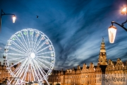 photo architecture fete lumieres art couleurs : La Grand'Place sertie de diamants