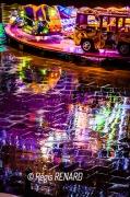 photo villes lumieres arras manege fete foraine : Pluie de lumières