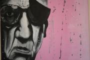 tableau personnages vieil homme portrait : Le vieil homme
