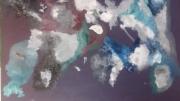 tableau abstrait mort vie amour passion : PRINCE PURPLE