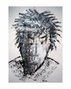 mixte personnages rasta portrait : Portrait Rasta
