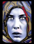 mixte personnages portrait femme ethnique : Regard