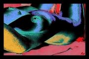 mixte nus nu femme couleurs : Nu éclatant