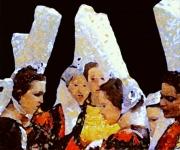 autres scene de genre bretonnes bigoudenes coiffes : Scène Bigoudène