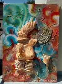 "Femme girafe ""L'INFIDÈLE"""