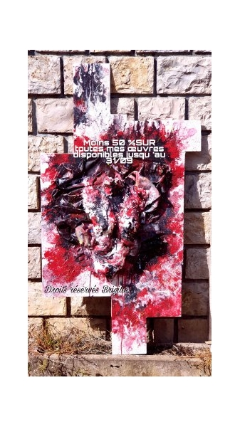 TABLEAU PEINTURE Abstrait  - PROMOTION 2!