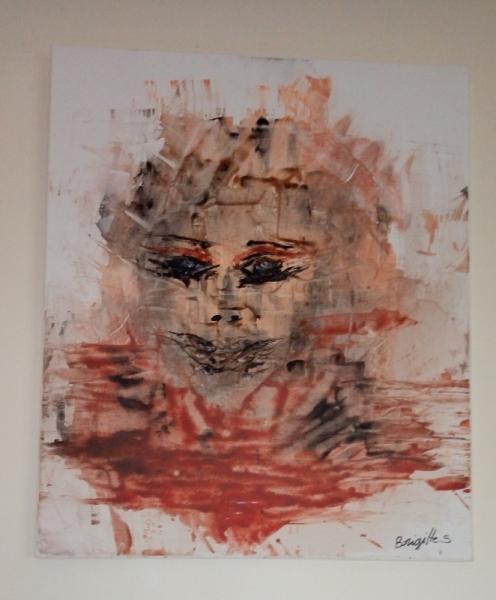 TABLEAU PEINTURE Abstrait Acrylique  - Muse