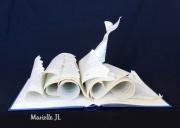 sculpture marine livre mer cachalot lire : Plonger dans un Grand Livre....