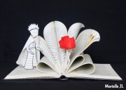 sculpture personnages livre prince exupery poesie : Le Petit Prince