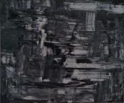 tableau abstrait barque abysses enfer desespoir : Traversée des abysses en barque