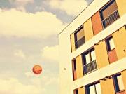 art numerique architecture ballon baskett immeuble : La Cité