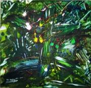tableau abstrait : Aza