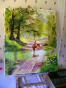 tableau paysages : sous bois