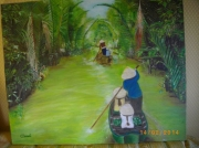 tableau paysages : thailande