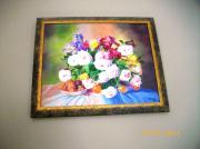 tableau fleurs : bouquet de fleurs