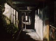 tableau architecture couloir ombre lumiere : Entre ombres et lumiéres
