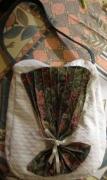 art textile mode autres sac eventail couture : Sac décor éventail