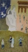 artisanat dart scene de genre fete nationale art deco : A la manière de Klimt: Saison été.