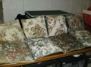 artisanat dart fleurs : Coussins toile tapisserie