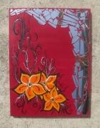 tableau fleurs : Sur mesure