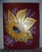 tableau fleurs : Joie,peur,colère,tristesse
