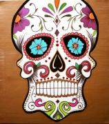 tableau : Mexican skull
