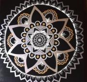 tableau abstrait : Mandalas