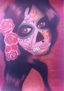 dessin personnages : Catrina