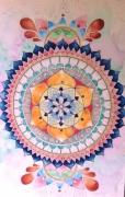 tableau abstrait : Abstract dreamcatcher